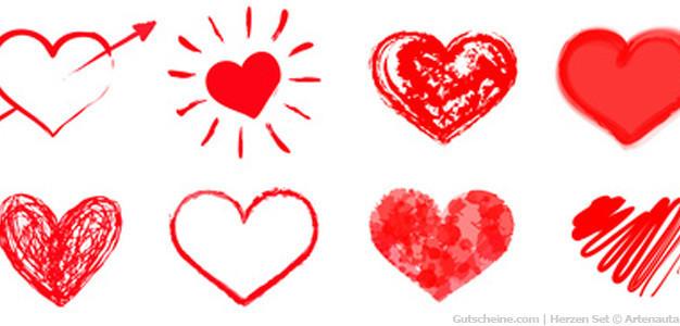 Gutscheinvorlagen Und Vordrucke Zum Valentinstag Erstellen