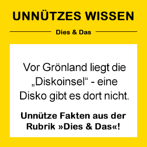 NEON Unnützes Wissen
