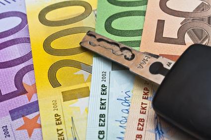 Schlüssel bei Abschluss einer 3-Wege-Finanzierung