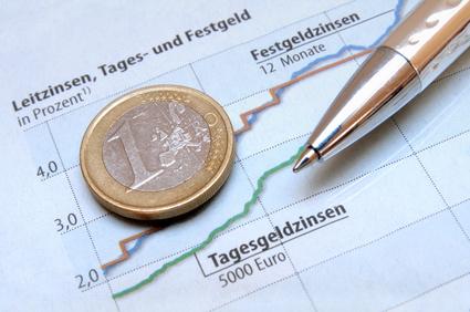 Aktuelle Festgeldzinsen sind besser als Tagesgeld