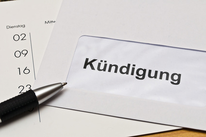 Online kündigen anstatt klassisch per Brief