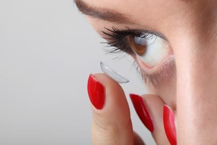 Kontaktlinsen auf Rechnung