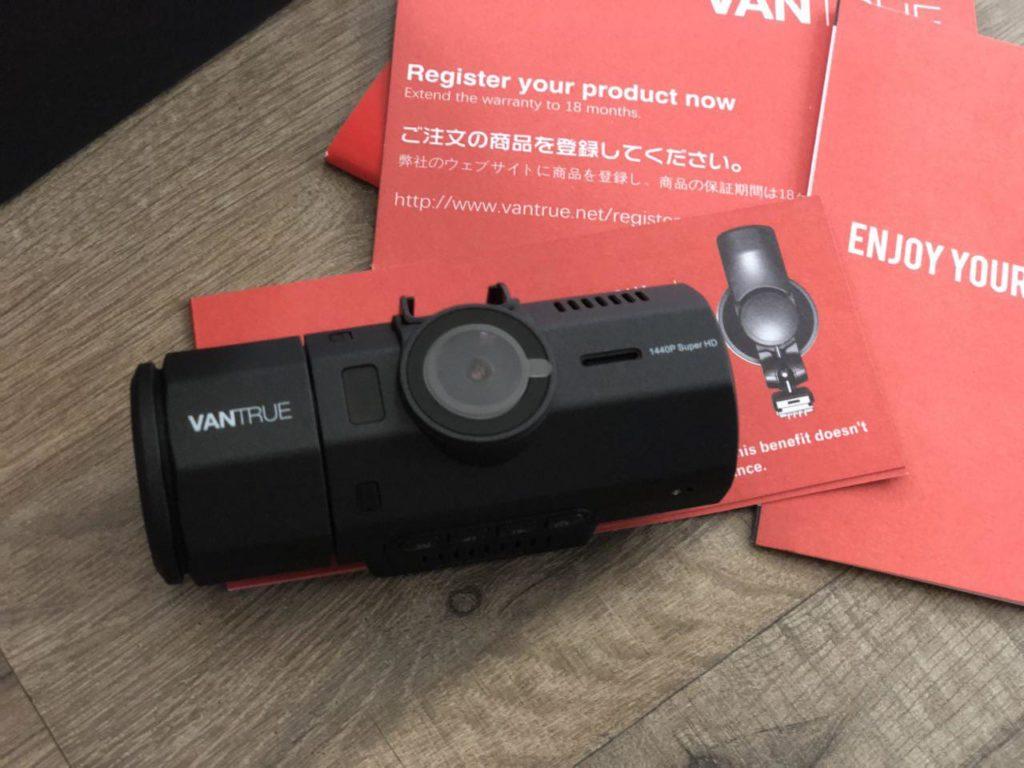 Vantrue N2 Pro Dual Dashcam Details 2