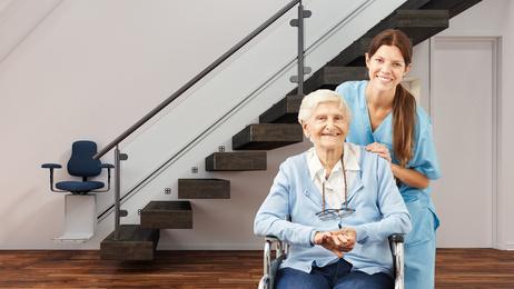 Treppenlift kaufen und im eigenen Zuhause besser zurecht kommen