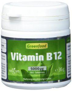 Vitamin B12 Vergleich