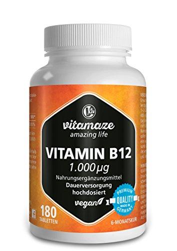 Vitamin B12 Test & Vergleich