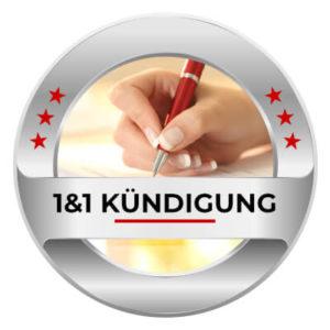 1&1 DSL und Internet Kündigung - 1&1 Vertrag online kündigen