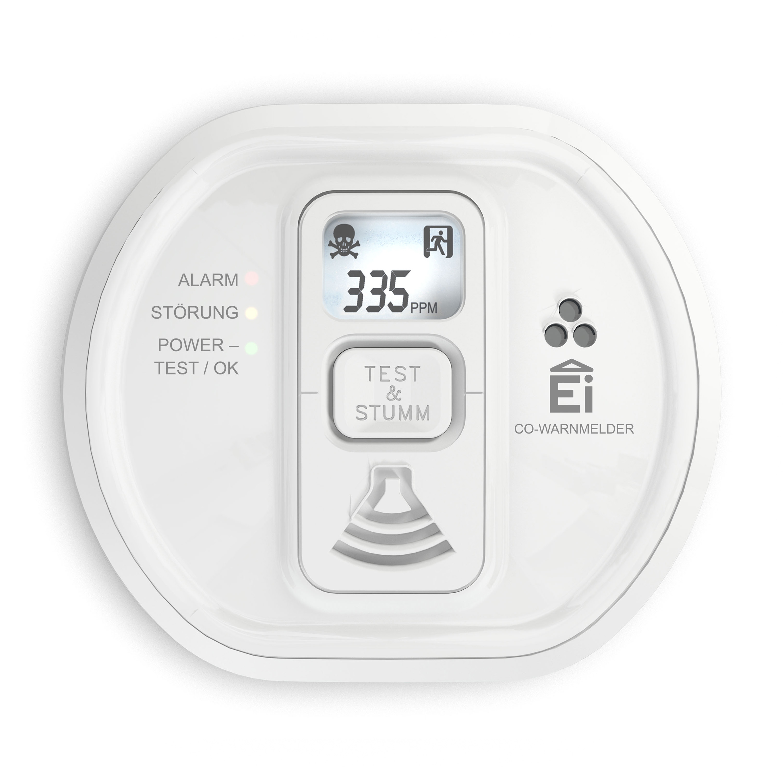 Ei Electronics Ei208D 10-Jahres-Kohlenmonoxid Warnmelder