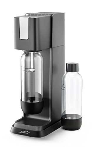 SodaStream CRYSTAL 2.0 Glaskaraffen Wassersprudler Sprudelwasser Sprudelmaschine