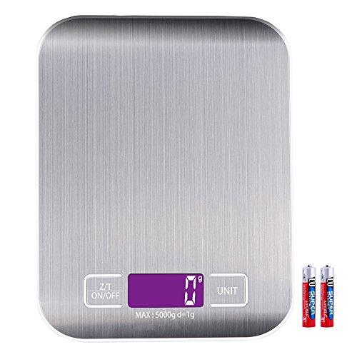 Neu 5kg 5000g//1g Digitale Küchenwaage Digital Küche Scale Waage Präzisionswaage