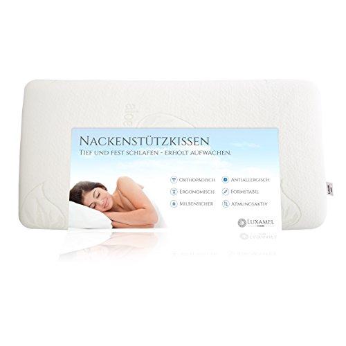 Orthopädisches Stift Latex Nackenstützkissen Nackenkissen ergonomisches Kissen