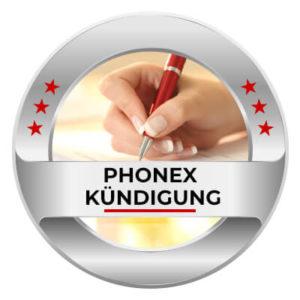 Phonex Handyvertrag einfach online kündigen