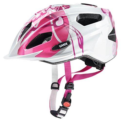 48-54cm 2020 Fahrradhelm Abus MountZ Helm Kinder Polar White Kopfumfang S