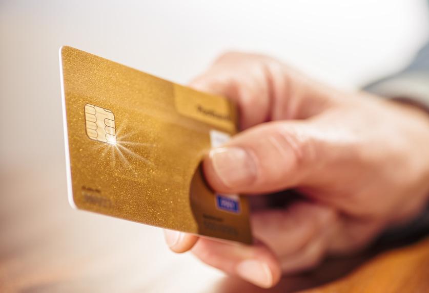 Kreditkarte mit Kreditrahmen