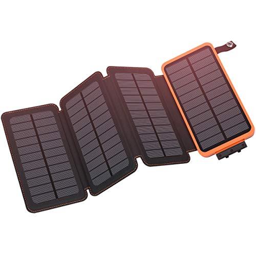 Wasserdichte 100000mAh Power Bank 2USB Solar Pack Ladegerät für Handy