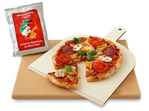 Pizzasteine Test