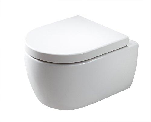 Spülrandloses WC Test