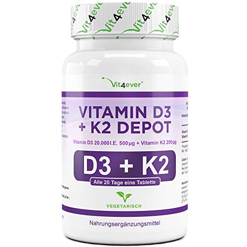 Die besten Vitamin D3 Präparate