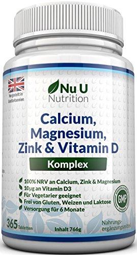 Magnesium-Tabletten Test und Vergleich