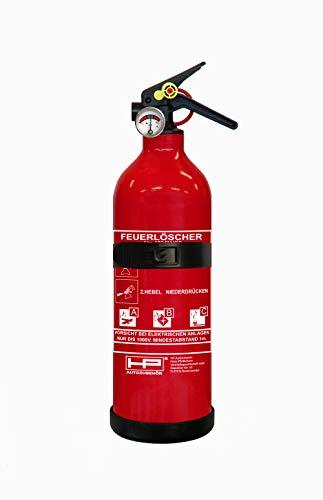 6 verschiedene Feuerlöscher im Vergleich – finden Sie Ihren besten Feuerlöscher zur effektiven Brandbekämpfung – unser Test bzw. Ratgeber [jahr]