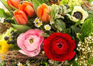 Blumen schicken