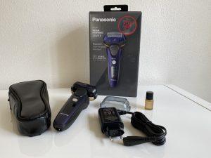 Panasonic ES-LV67 Nass-/Trocken-Rasierer Präsentation und Zubehör