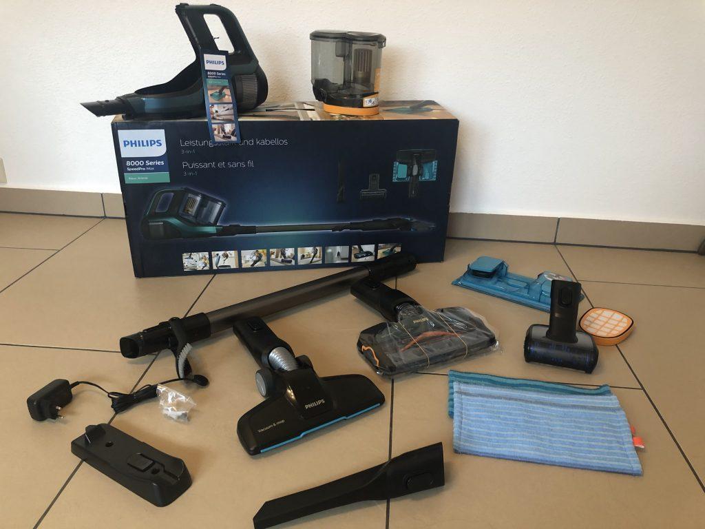 Philips XC8147/01 SpeedPro Max Aqua im Test