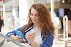 Online Kreditkarte