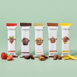 foodspring Protein Bar 12er Paket Mix