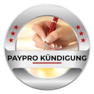 PayPro kündigen