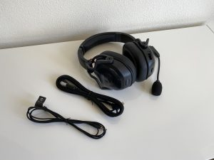 Teufel CAGE Gaming-Headset liegend