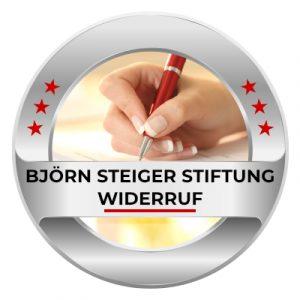 Björn Steiger Stiftung Widerruf