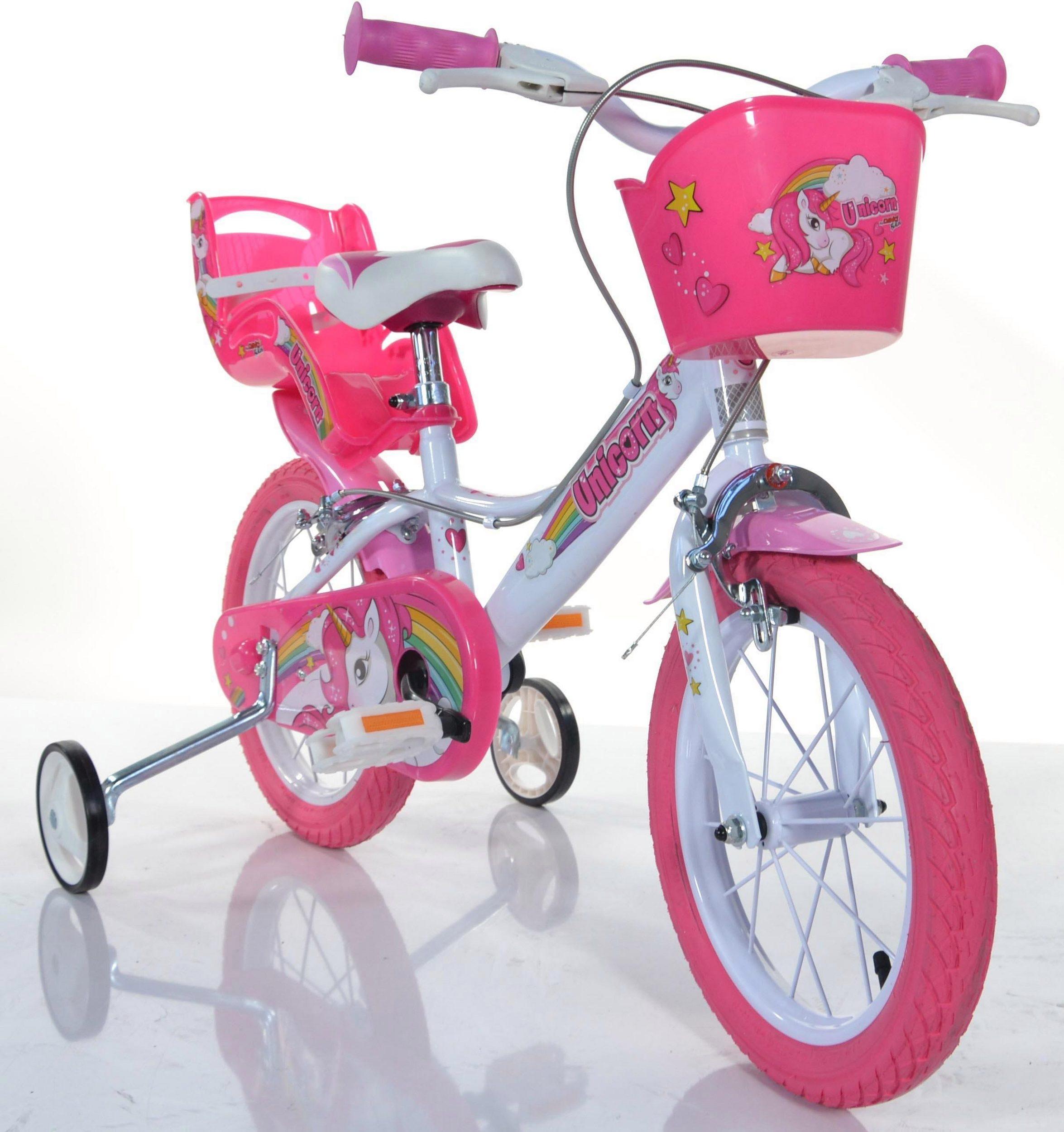 Dino Bikes 164R-UN Unicorn Kinderfahrrad