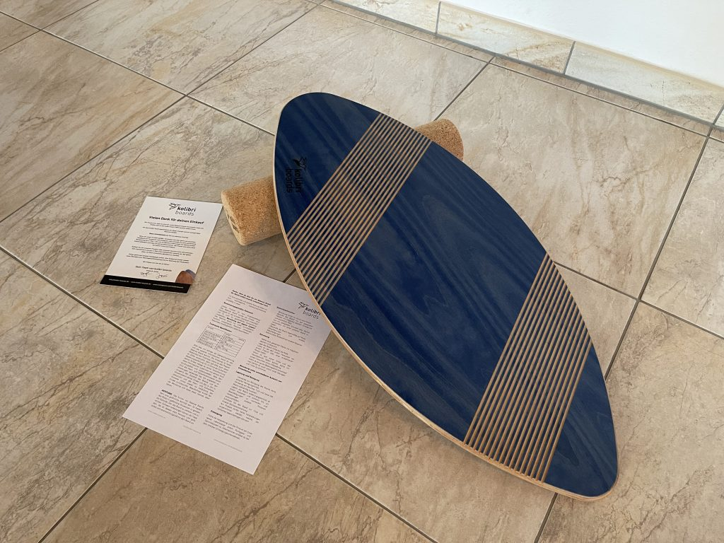 Kolibri Boards Balance-Board Grip Inhalt