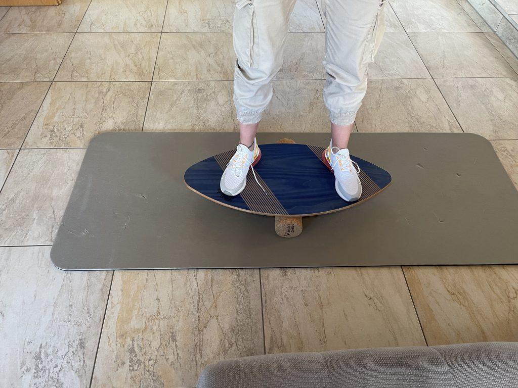 Kolibri Boards Balance-Board Grip balancieren